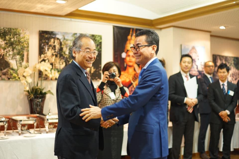 カンボジアフェスティバル協賛企業懇親会