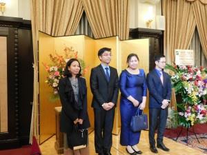 カンボジア大使館メンバー2