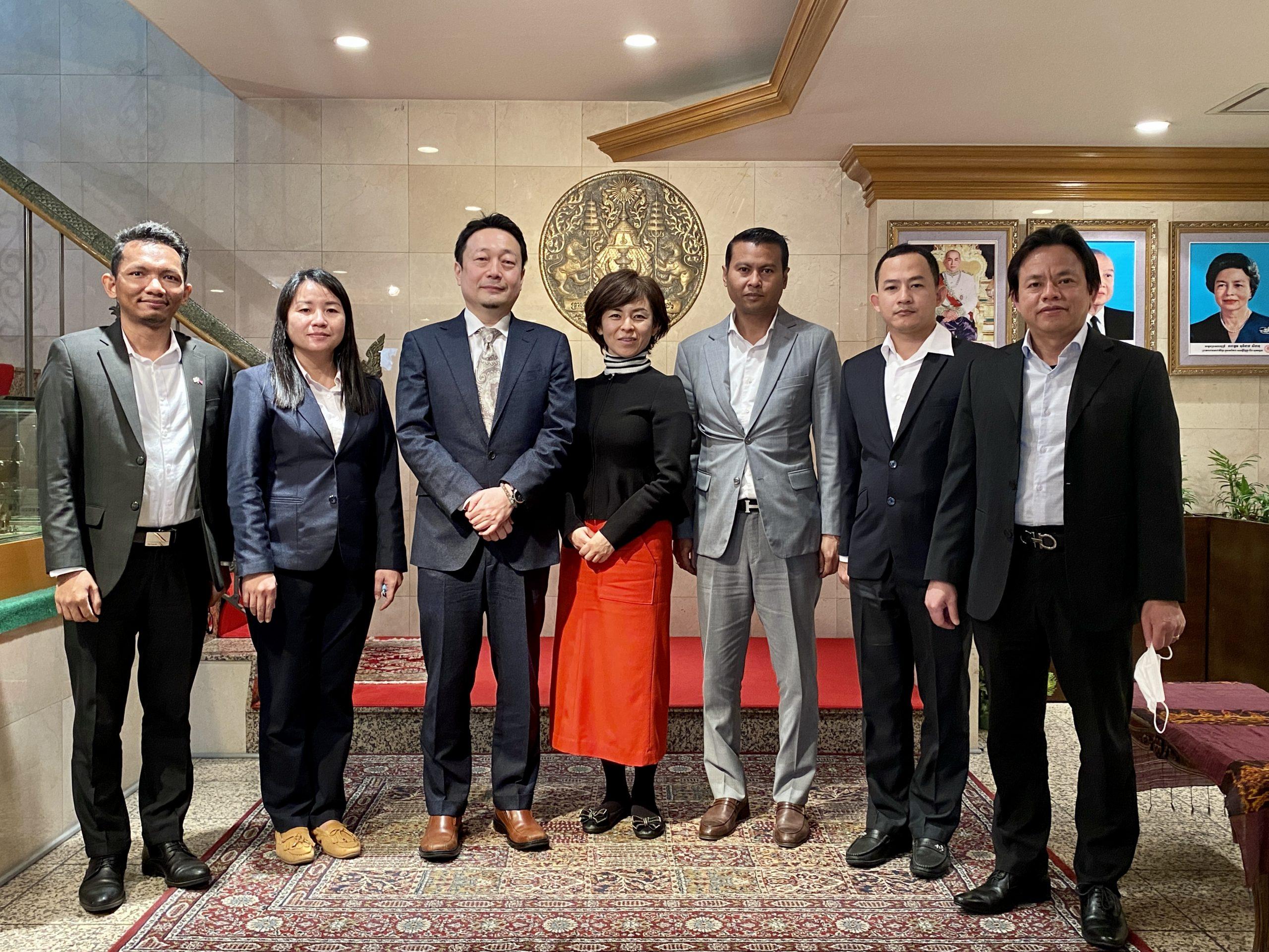 在日本カンボジア大使館新任メンバー紹介