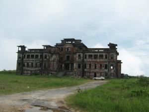 ボコールのフランスホテル廃墟3