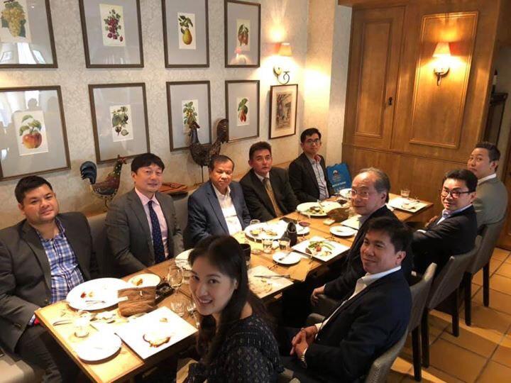 トン・コン観光相一行を歓迎する昼食会開催