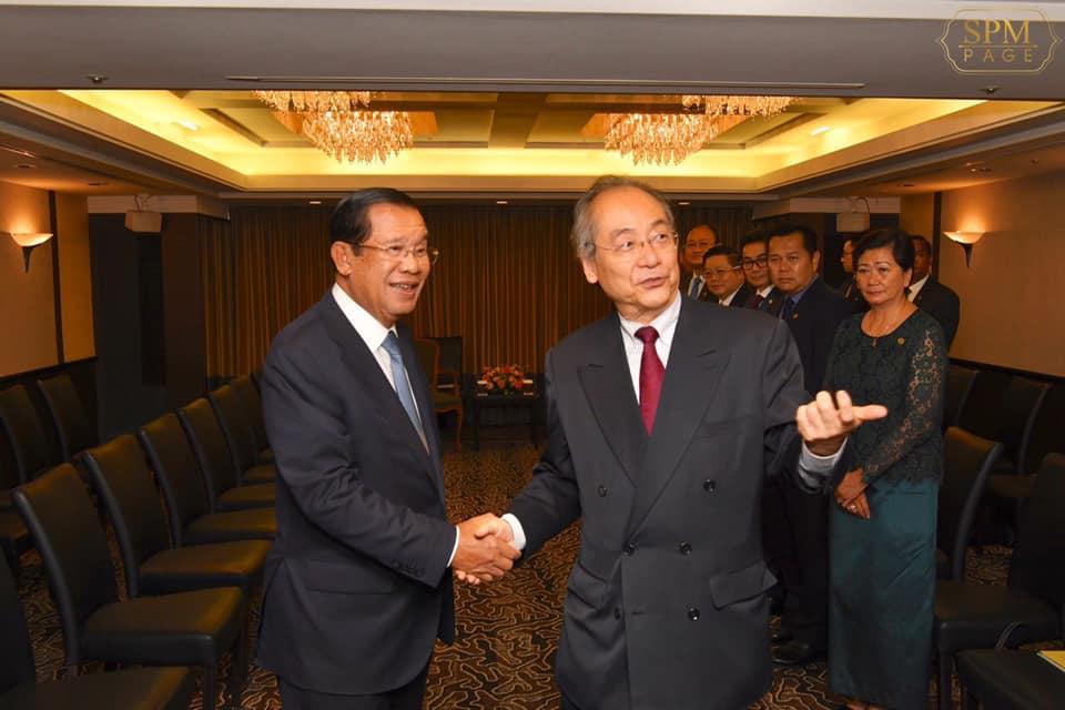 フン・セン首相表敬訪問