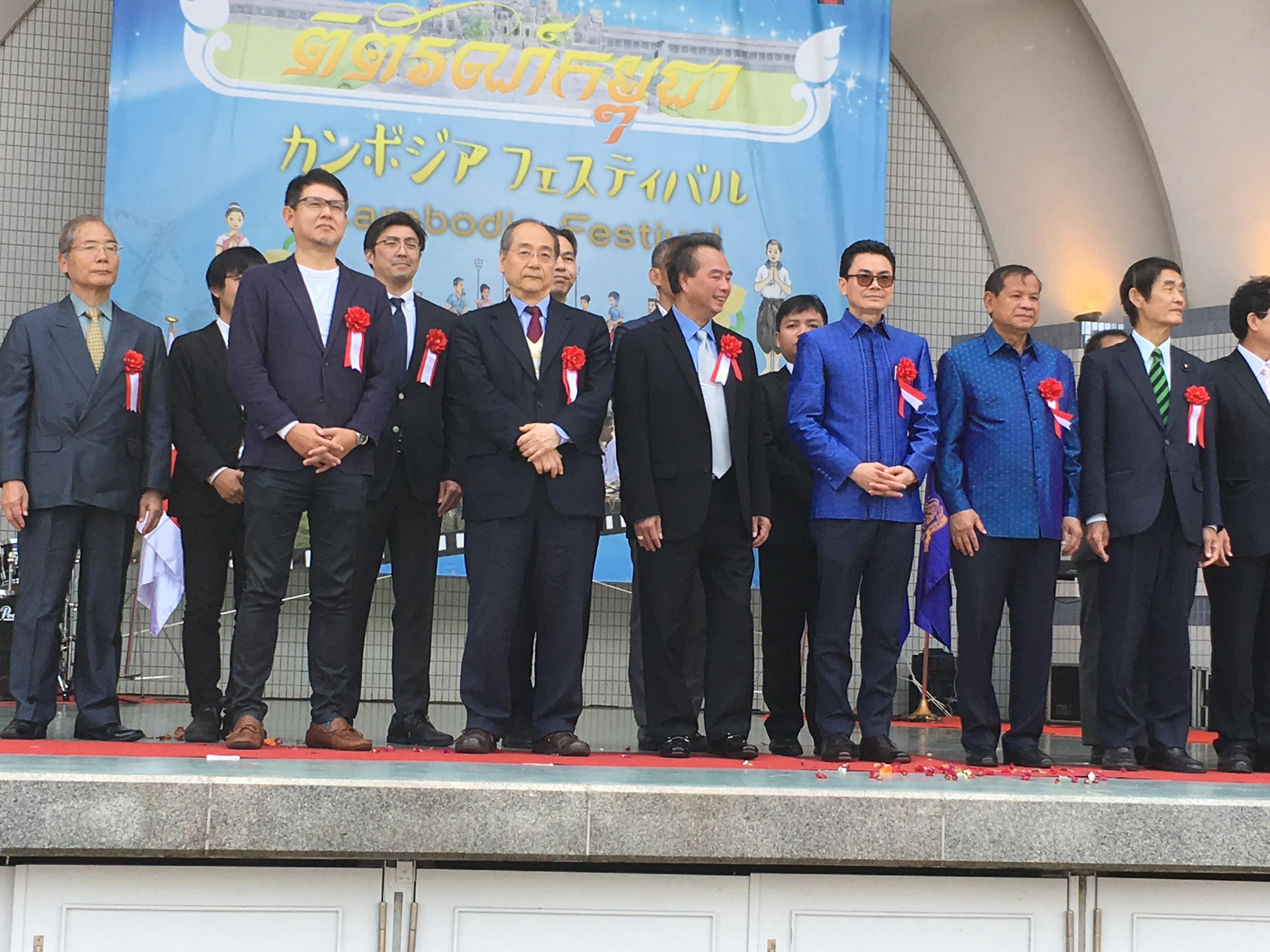 カンボジアフェスティバル2019開会式