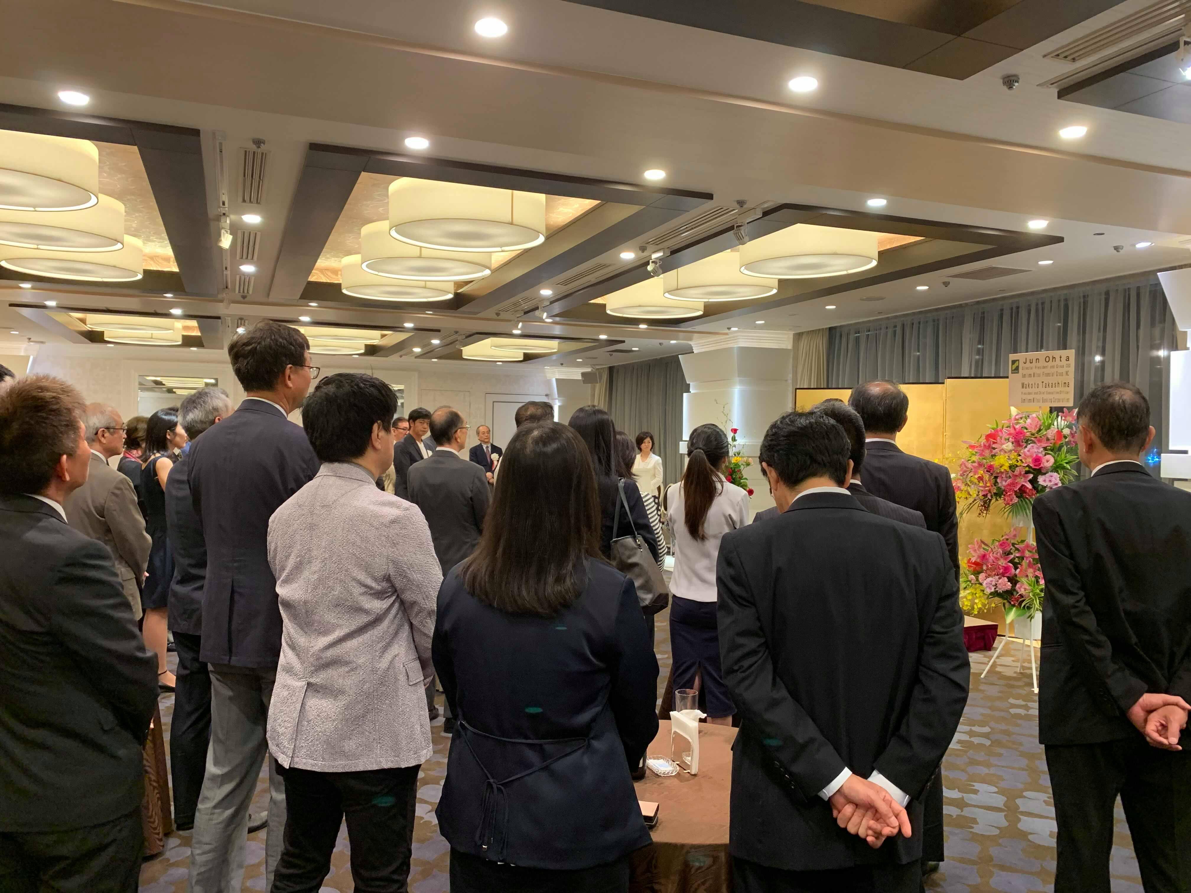 日本カンボジア協会主催新旧駐カンボジア大使歓送迎レセプション