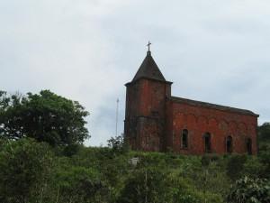 ボコールの教会廃墟